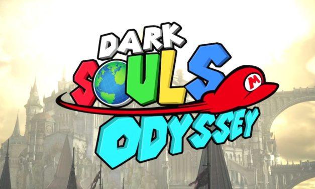Super Mario Odyssey Trailer Recreated in Dark Souls