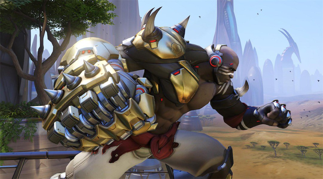 Overwatch: Doomfist is Now Available in Competitive Play